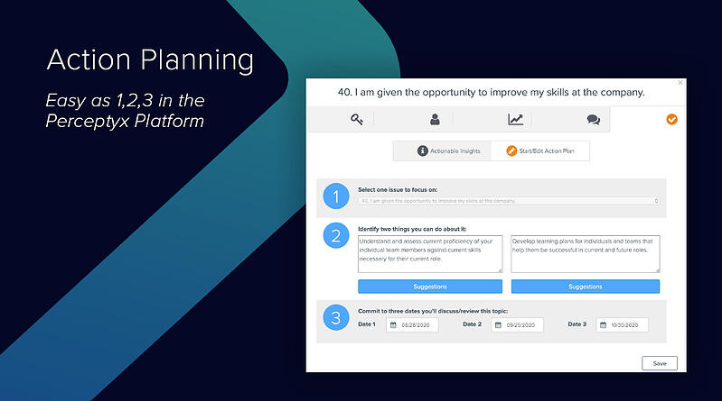 Action planning | Perceptyx